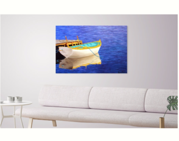 colourful boat on water