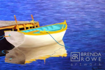 boatload of colour teal boat