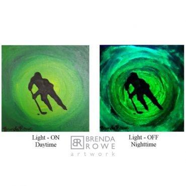 green hockey mini glowe
