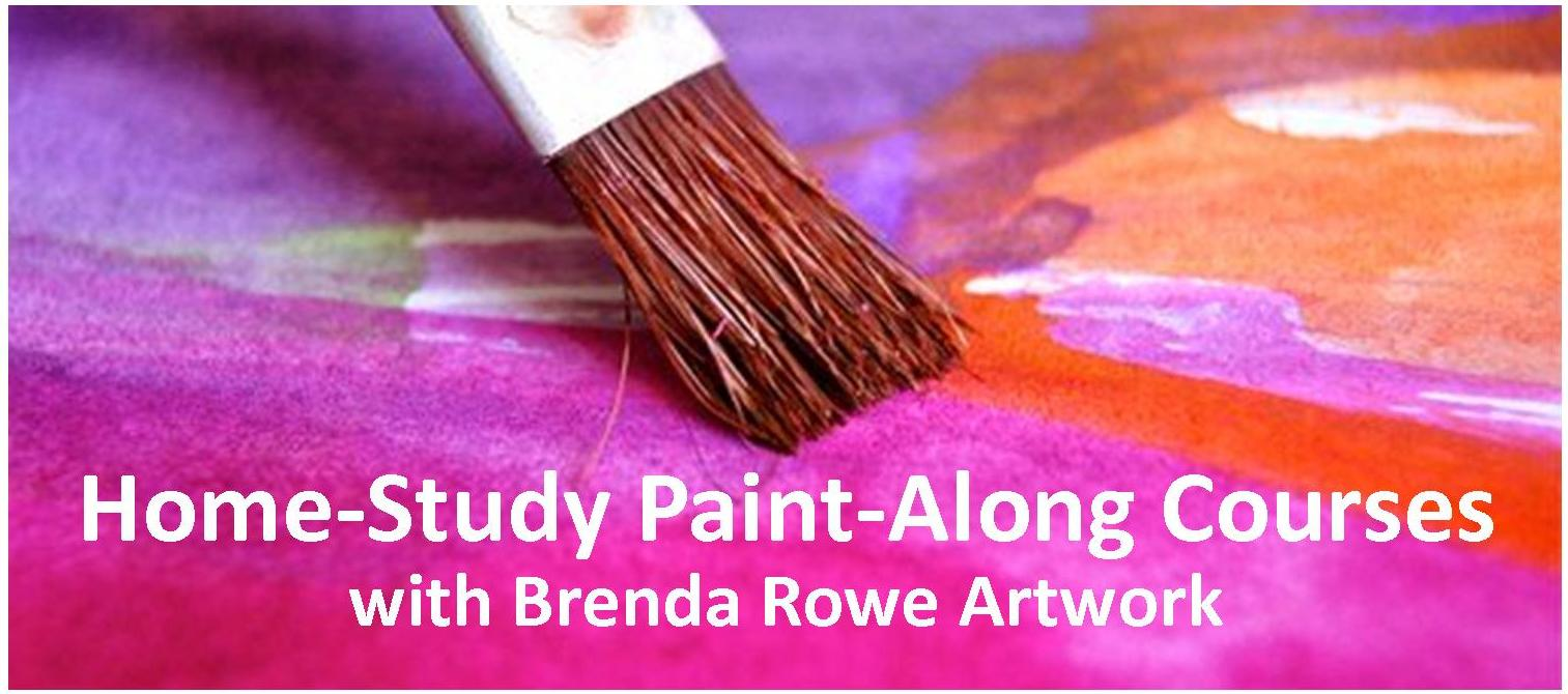 home study paint along course