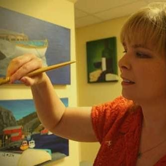 Art Instruction: Live Online Paint-Along Classes on Zoom