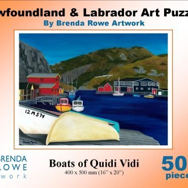 boats of quidi vidi puzzle
