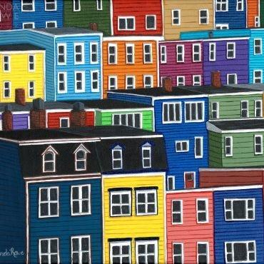jellybean houses