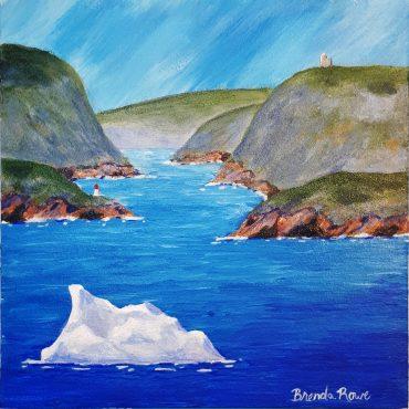 iceberg near narrows